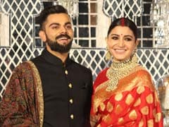 Virushka Wedding Reception: Virat Kohli, Anushka Sharma Pose For Shutterbugs