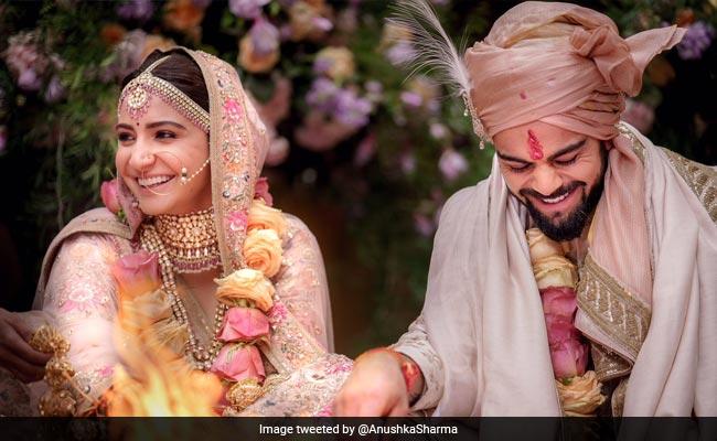 इटली में विराट कोहली और अनुष्का शर्मा ने रचाई शादी, ट्विटर पर लिखा यह संदेश...