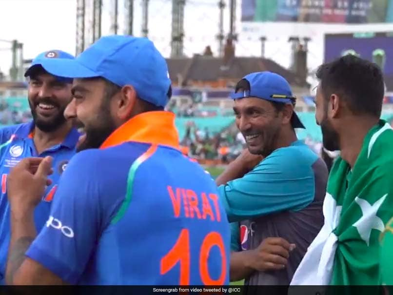 India-Pakistan Cricket Video Rated By ICC As One Of The Best Moments Of 2017