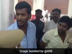 "RK Nagar Nomination Rejected, Actor Vishal Says ""Mockery Of Democracy"""