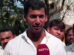 "RK Nagar By-Poll: ""Threat To Life"", Says Relative Of Actor Vishal's Missing Proposer"