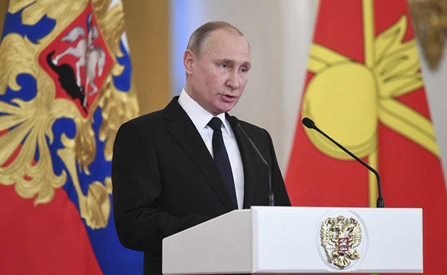 Vladimir Putin Says He Will 'Never' Give Crimea Back To Ukraine