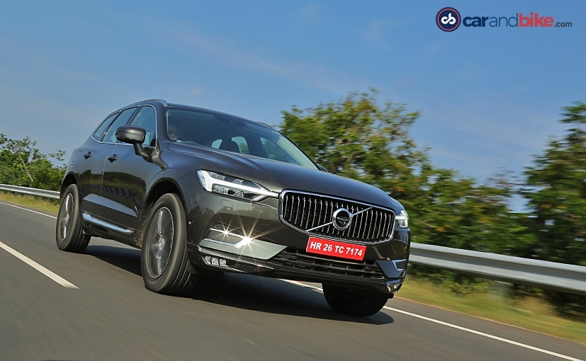 The new Volvo XC60 is based on the company's SPA vehicle platform like the XC90