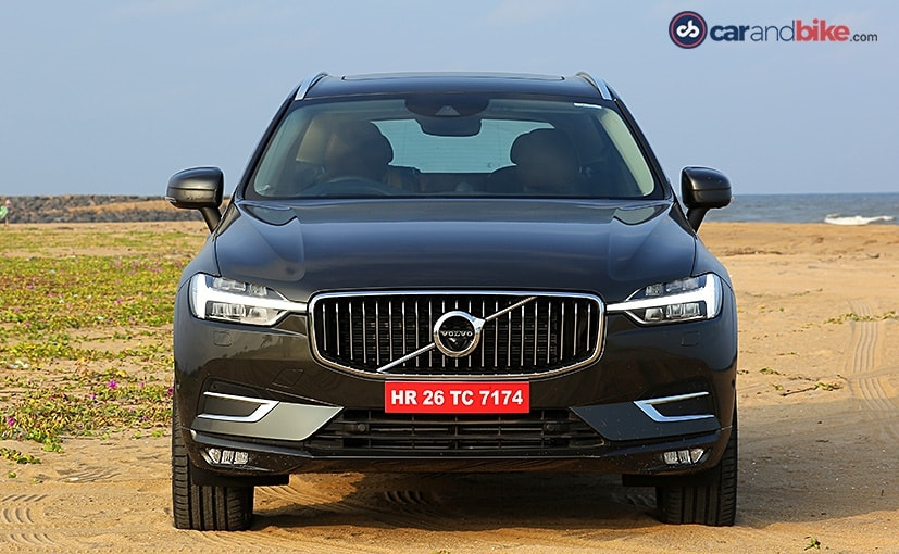 volvo xc60s face takes cues from the xc90