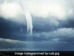 Huge Waterspout Forms Off Italian Coast. Rare Phenomenon Caught On Camera