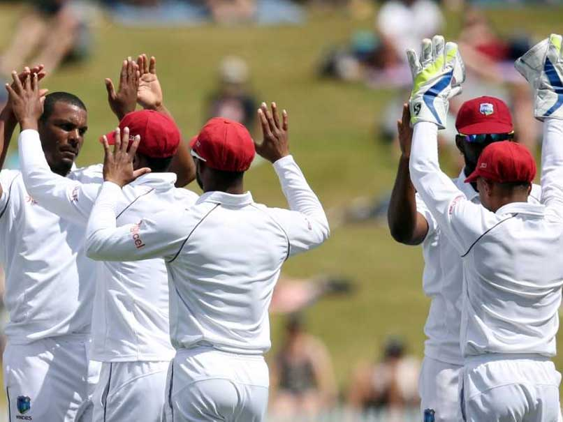 2nd Test: Windies Late Charge Unravels New Zealand On Day 1