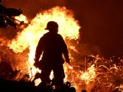 Emergency Declared As Wildfires Rage Near Los Angeles; Thousands Flee
