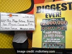 Years After $100,000 Lottery Win, Woman Hits $2 Million Jackpot