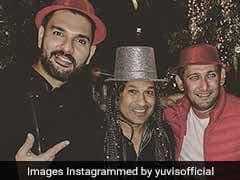 Yuvraj Singh Posts Pre-New Year's Snap With Sachin Tendulkar, Ajit Agarkar. Pic Goes Viral