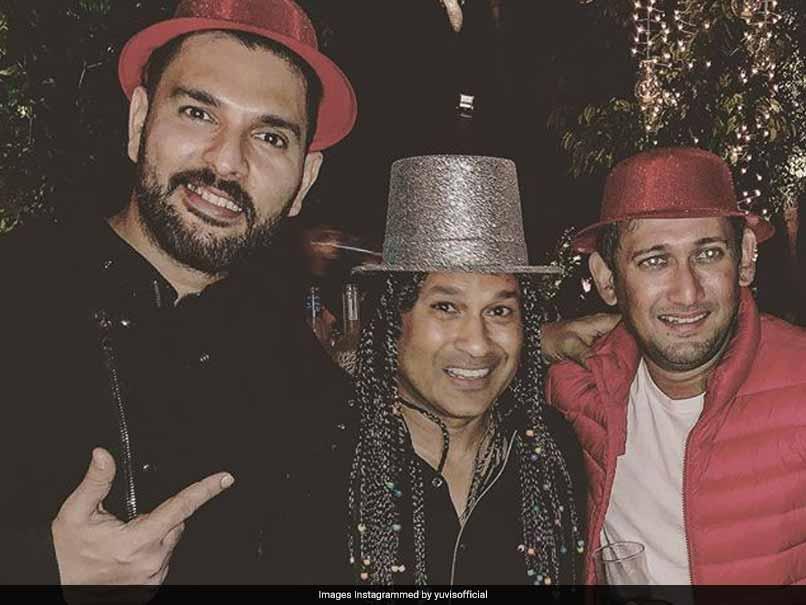 Yuvraj Singh Posts Pre-New Year