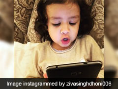 Ziva Dhoni Sings 'We Wish You A Merry Christmas And A Happy New Year'