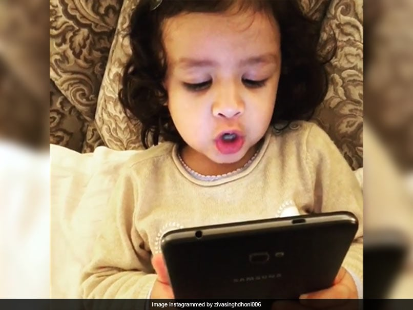 Watch: Ziva Dhoni's Adorable Attempt At Singing Yet Another Malayalam Song