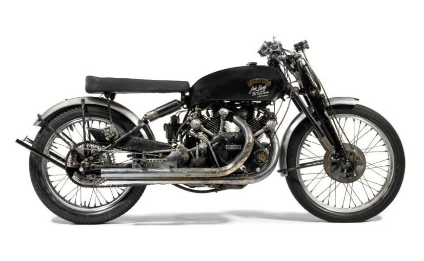 1951 vincent black lightning at bonhams auction