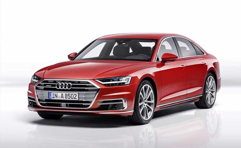 The new-generation Audi A8L will be launched in India on February 3, 2020
