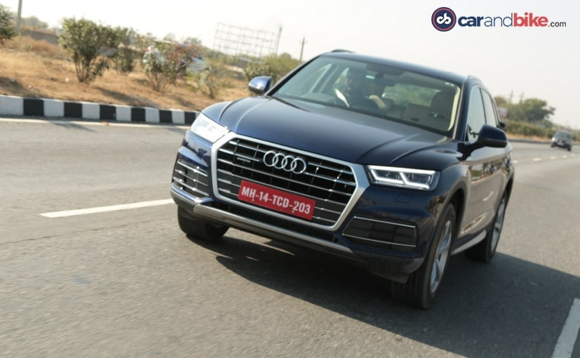2018 audi q5 launched in india prices start at rs lakh ndtv carandbike. Black Bedroom Furniture Sets. Home Design Ideas