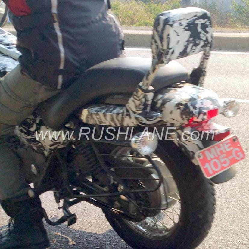 2018 bajaj avenger cruise 220 rear