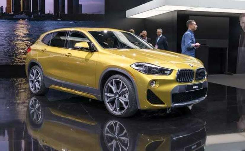 2018 Detroit Motor Show New Bmw X2 Revealed Ndtv Carandbike