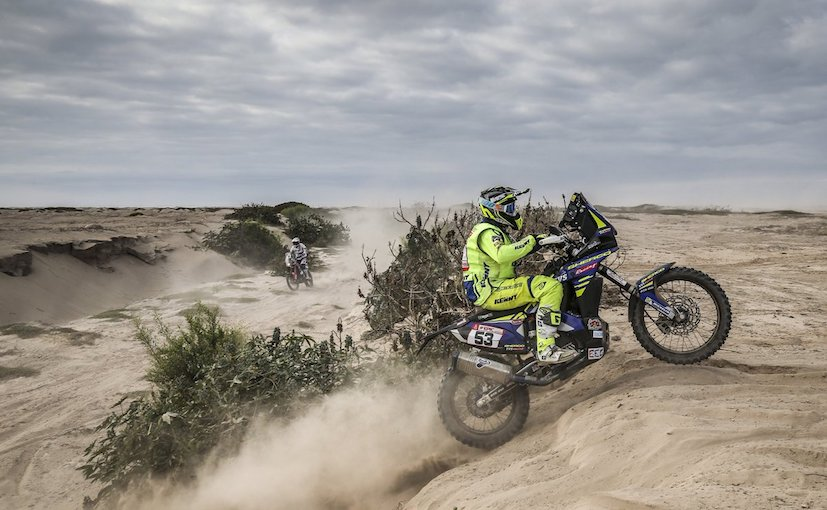 Dakar 2018, Stage 4: Aravind KP Dropped To 33rd; CS Santosh Recovers To 56th Despite Crash