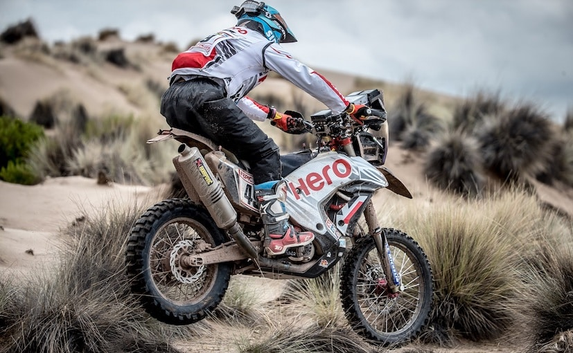 2018 dakar stage 7 cs santosh hero