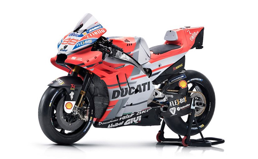 MotoGP 2018: Ducati Desmosedici GP18 Race Bike Breaks Cover - NDTV CarAndBike