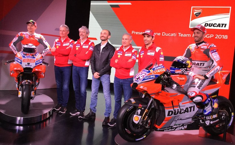 MotoGP 2018: Ducati Desmosedici GP18 Race Bike Breaks Cover