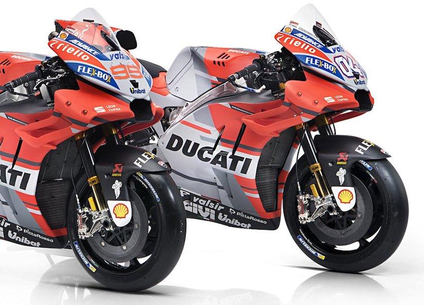 2018 ducati motogp bikes