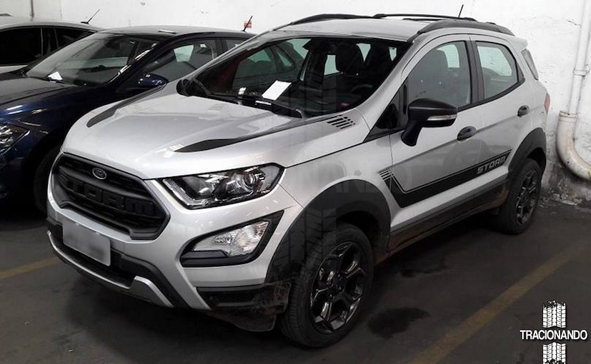 Ford Ecosport Storm Edition Leaked Ahead Of Debut In Brazil