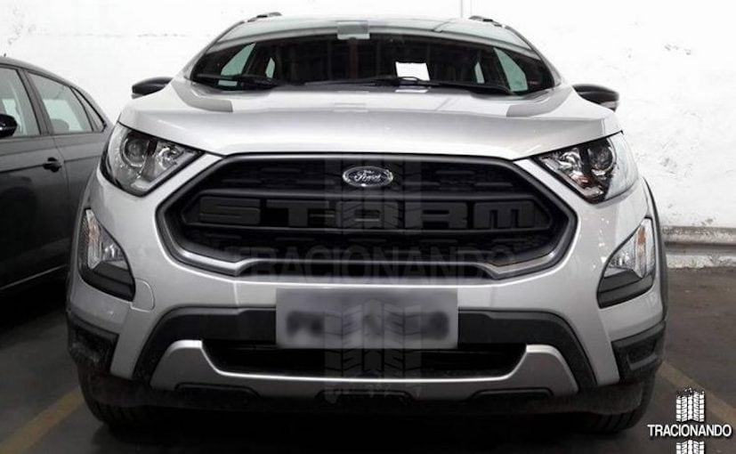2018 ford ecosport storm leaked