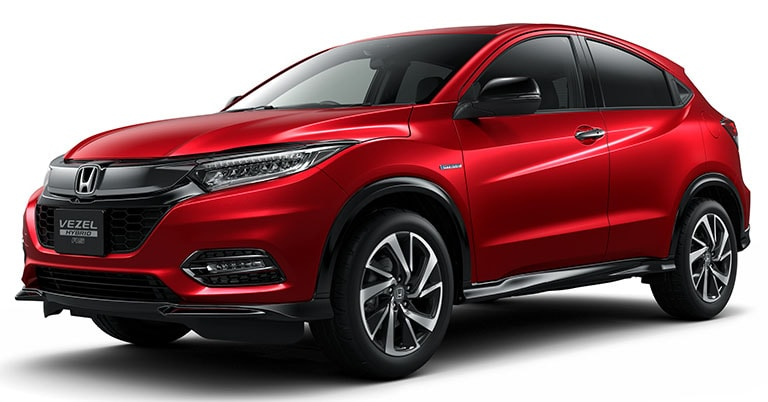 2018 honda hr v facelift revealed ndtv carandbike. Black Bedroom Furniture Sets. Home Design Ideas