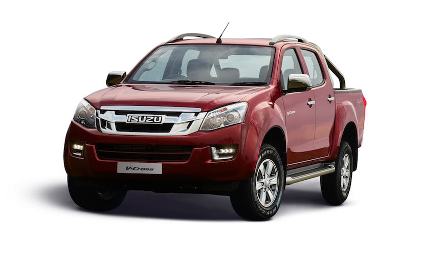 The 2018 Isuzu D-Max V-Cross is offered in 2 trims - Standard and High