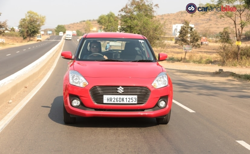 2018 maruti suzuki swift driving