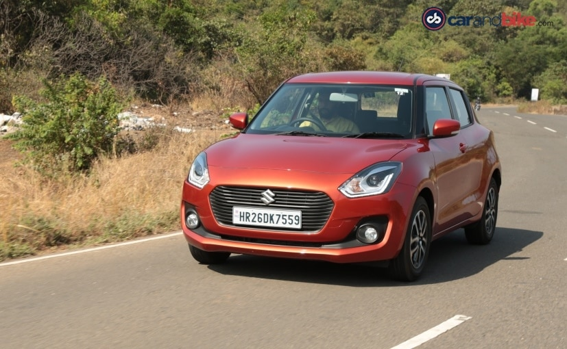 2018 maruti suzuki swift performance