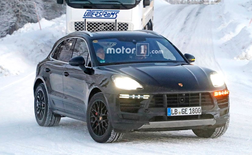 2018 Porsche Macan Facelift Spotted Ahead Of Debut