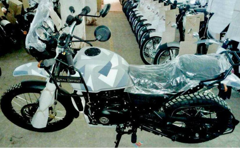Royal Enfield to launch Himalayan in new camouflage color on 12th January