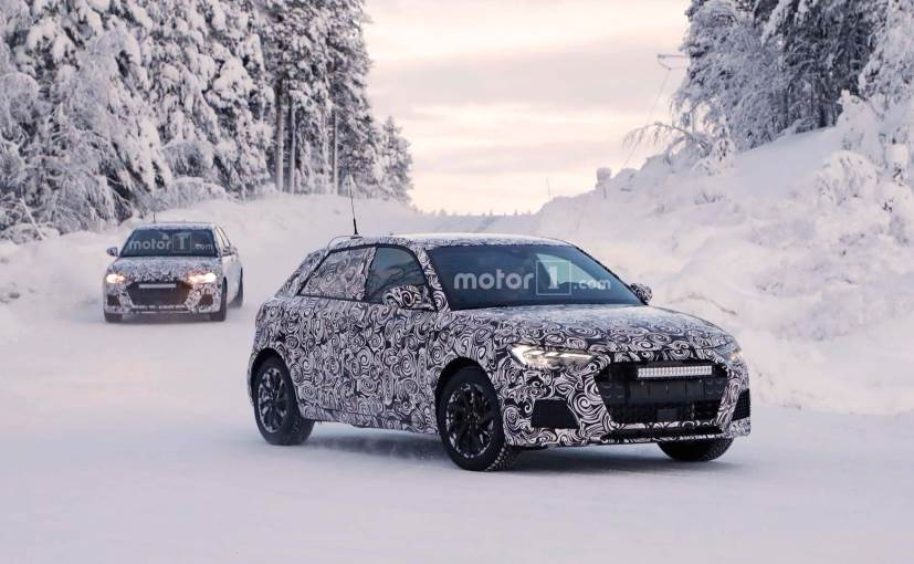 2019 audi a1 hatchback spotted undergoing cold weather testing befirstrank. Black Bedroom Furniture Sets. Home Design Ideas