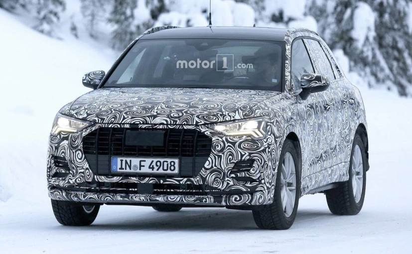 The New Gen Audi Q3 Will Be Ger And Lighter Than Cur One