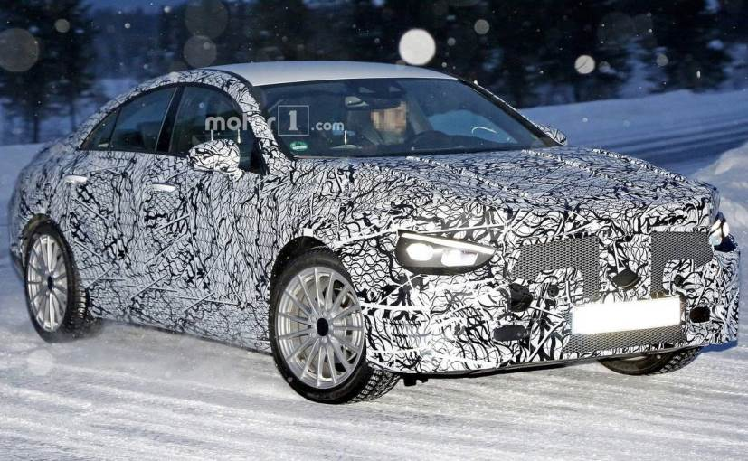 The next-gen Mercedes-Benz CLA was spotted undergoing cold weather testing