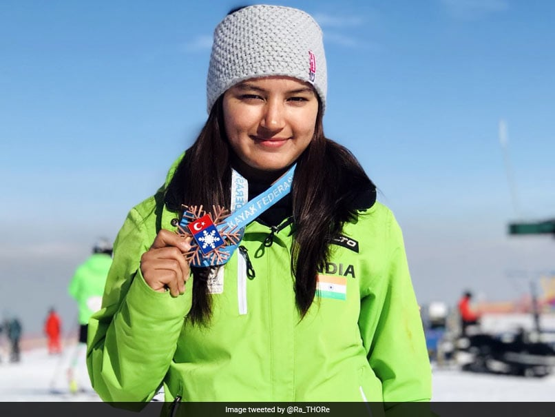 Aanchal Thakur Becomes First Indian To Win International Medal In Skiing