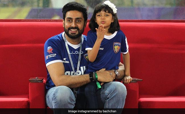 Aaradhya Bachchan Giving The Camera A Flying Kiss Is Everything. See Dad Abhishek's Pic