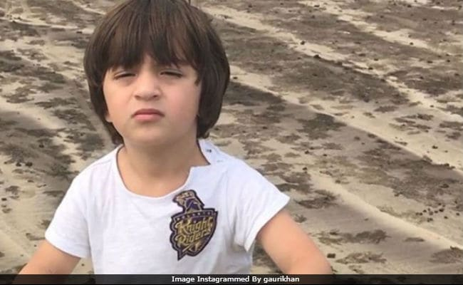 Trending: Shah Rukh Khan's Son AbRam's Pic In A Kolkata Knight Riders T-shirt, Shared By Gauri