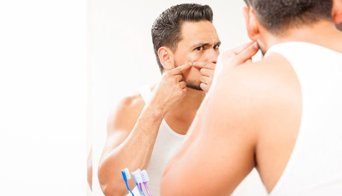 Gentlemen, Here's How You Can Prevent An Acne Breakout