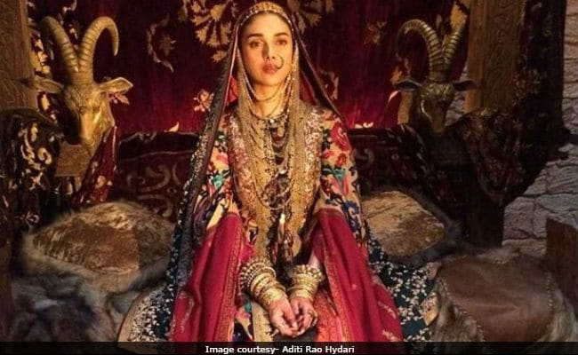 Padmaavat actress aditi rao hydari thanks a bunch of for Aditi indian cuisine