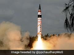 Agni-5, Nuke-Capable 'Fire And Forget' Missile, Successfully Test-Fired