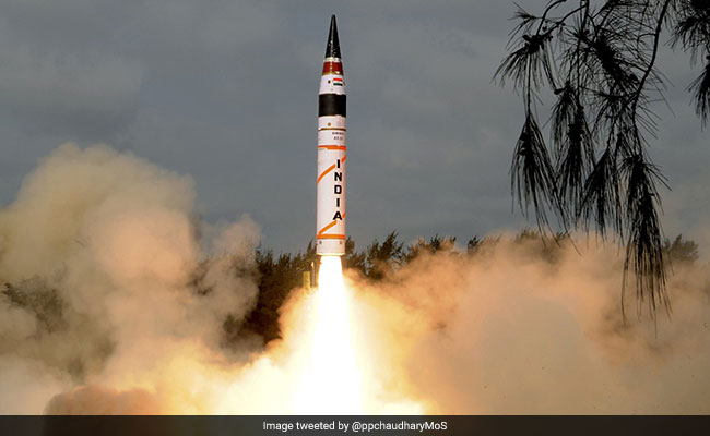 Agni-5, Nuclear-Capable 'Fire And Forget' Missile, Successfully Test-Fired