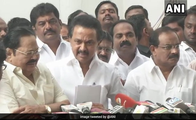 Opposition Leaders Walk Out As Governor Addresses Tamil Nadu Assembly