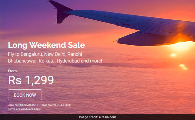 airasia long weekend sale