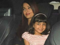 Aishwarya And Abhishek Bachchan Take Aaradhya Out For Dinner. Pics Here
