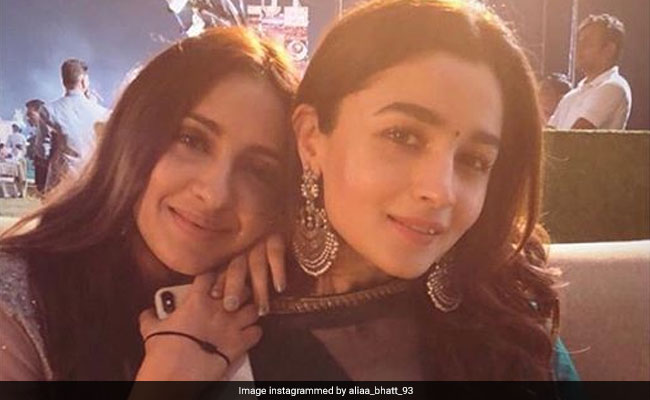 Seen This Pic Of Alia Bhatt With Her Friend From A Recent Shaadi?