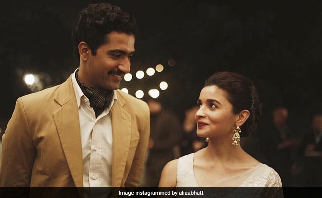 Alia Bhatt And Vicky Kaushal In A New Pic From Raazi. Seen Yet?