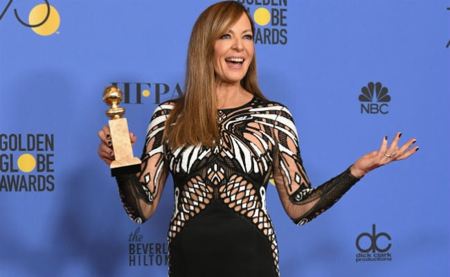 Golden Globes 2018 Allison Janney Wins Best Supporting Actress For I Tonya